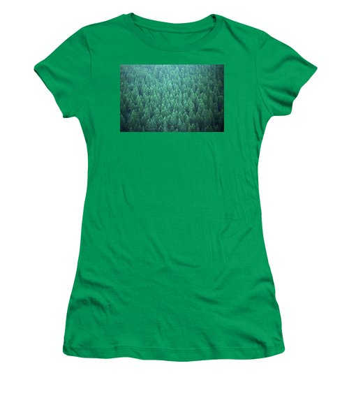 Evergreen Women's T-Shirt (Athletic Fit)