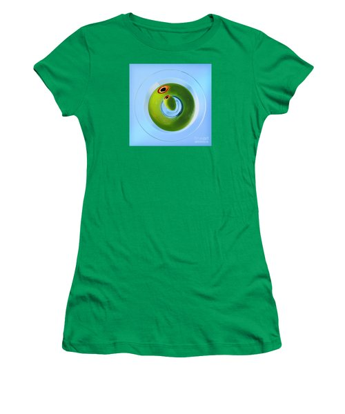 Women's T-Shirt (Junior Cut) featuring the photograph Olive Eye by Martin Konopacki