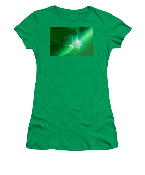 Women's T-Shirt (Athletic Fit) featuring the photograph Fibers by Greg Collins