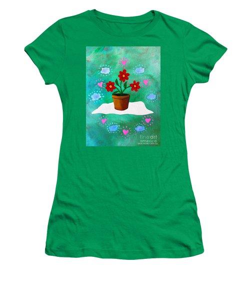 Orsanniah-orssanniae Women's T-Shirt (Junior Cut) by Don Pedro De Gracia