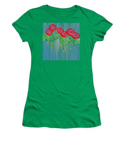 Floating Roses Women's T-Shirt