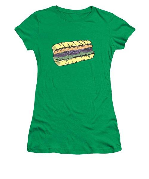 Food Masquerade Women's T-Shirt (Junior Cut) by Freshinkstain