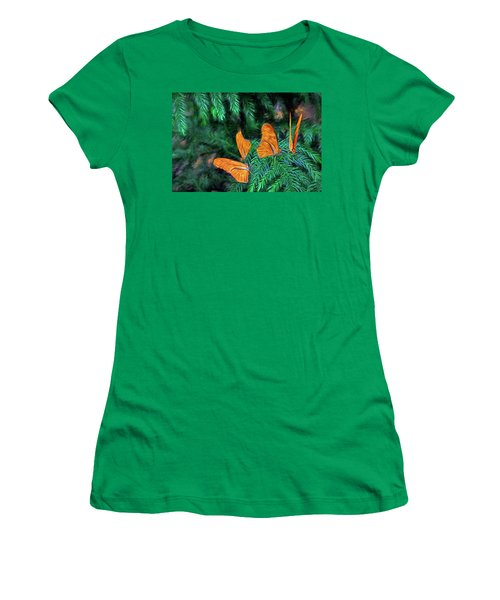 Women's T-Shirt (Junior Cut) featuring the digital art Four Brothers by James Steele