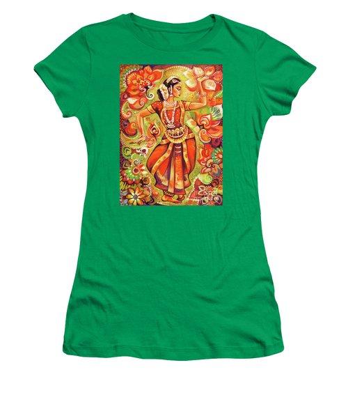 Ganges Flower Women's T-Shirt (Athletic Fit)