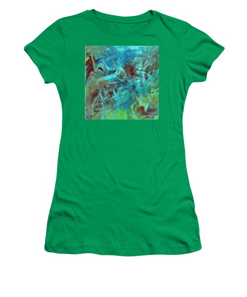 Groovy Women's T-Shirt (Athletic Fit)