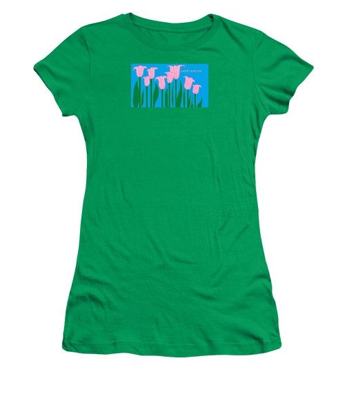 Happy Easter 1 Women's T-Shirt (Athletic Fit)