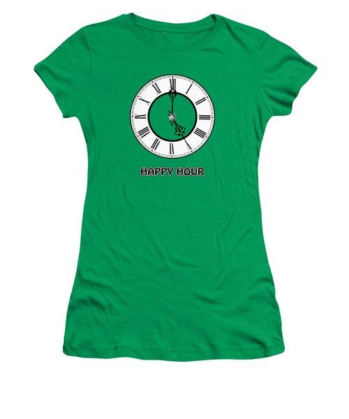 Happy Hour - Green Women's T-Shirt