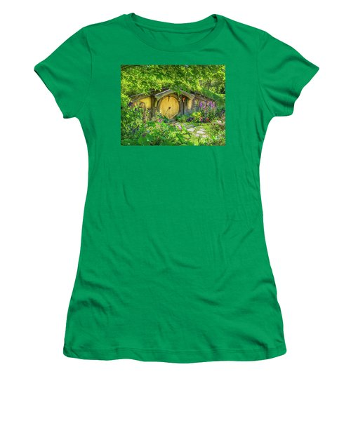 Hobbit Cottage Women's T-Shirt (Athletic Fit)