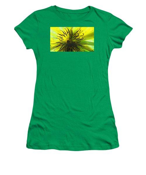 Inside A Yellow Goatsbeard  Women's T-Shirt