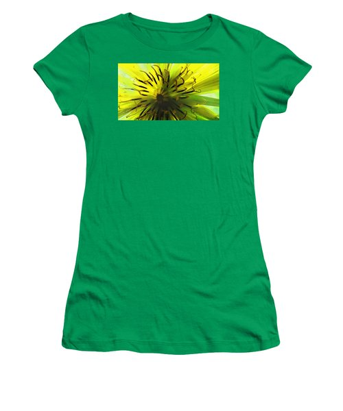 Inside A Yellow Goatsbeard  Women's T-Shirt