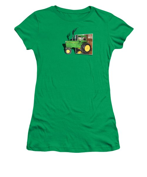 Women's T-Shirt (Junior Cut) featuring the photograph Into The Fields by Shane Bechler