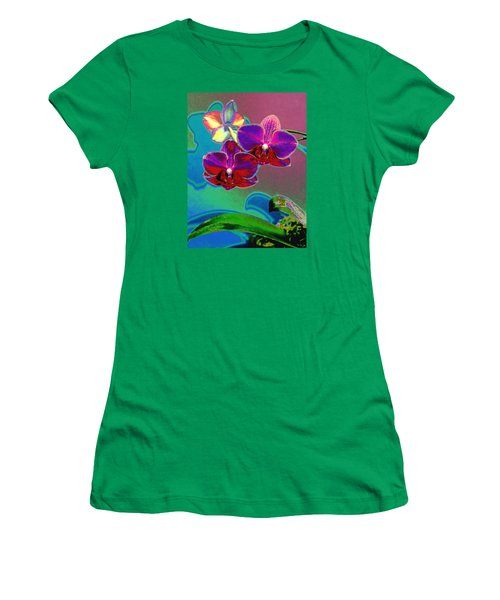 Women's T-Shirt (Junior Cut) featuring the photograph Just Open 2 by M Diane Bonaparte