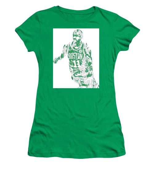 Kyrie Irving Boston Celtics Pixel Art 6 Women's T-Shirt