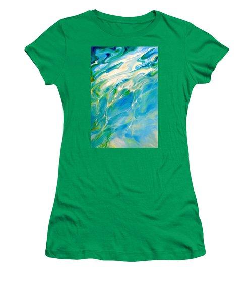 Liquid Assets Women's T-Shirt (Junior Cut) by Dina Dargo