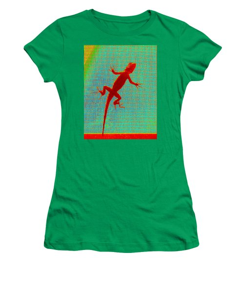 Lizard On The Screen Women's T-Shirt