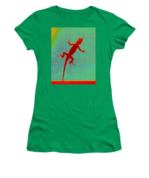 Lizard On The Screen Women's T-Shirt