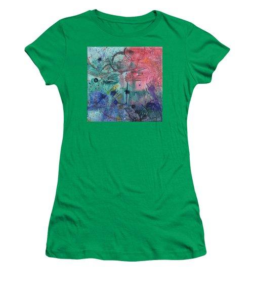 Lost Paradise Women's T-Shirt (Junior Cut) by Phil Strang