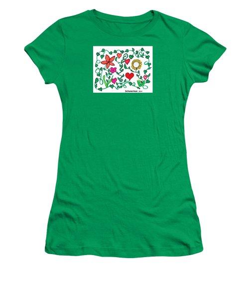 Love On The Vine Women's T-Shirt