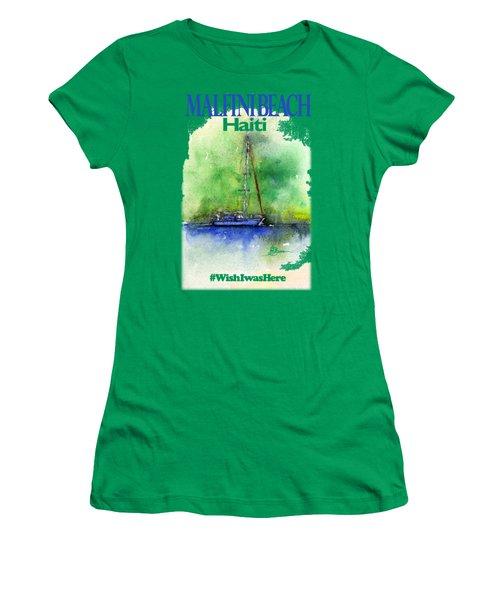 Malfini Beach Shirt Women's T-Shirt (Athletic Fit)
