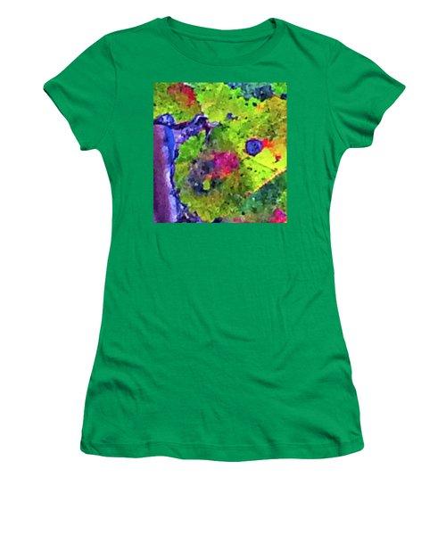 Maple Leaf Spirits Photo Women's T-Shirt (Junior Cut) by Gina O'Brien