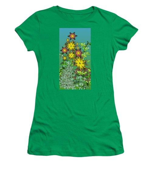 Mixed Flowers Women's T-Shirt