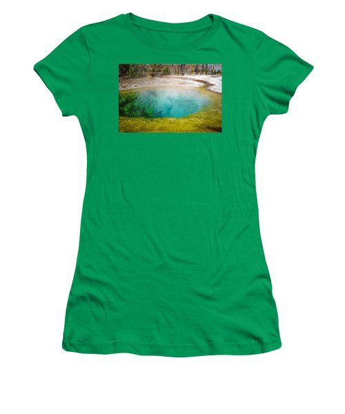 Morning Glory Pool Yellowstone National Park Women's T-Shirt