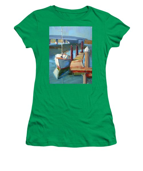 Moss Landing Morning Women's T-Shirt (Athletic Fit)