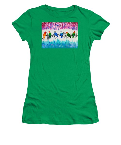 Nature's Jewels Women's T-Shirt (Junior Cut) by Cathy Jacobs