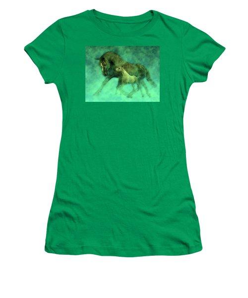 Ocean Mist Morning Women's T-Shirt