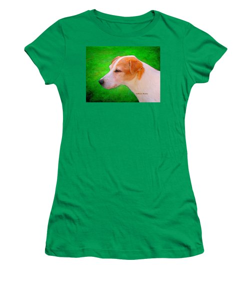 Women's T-Shirt (Athletic Fit) featuring the photograph Old Man Whiskers by KLM Kathel