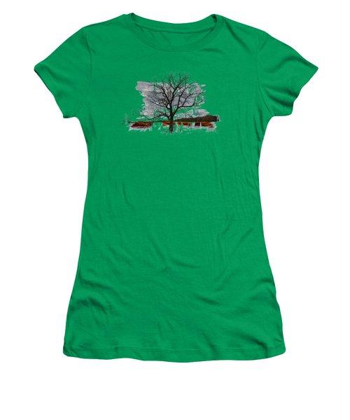 On To Beginnings Women's T-Shirt (Junior Cut) by John M Bailey