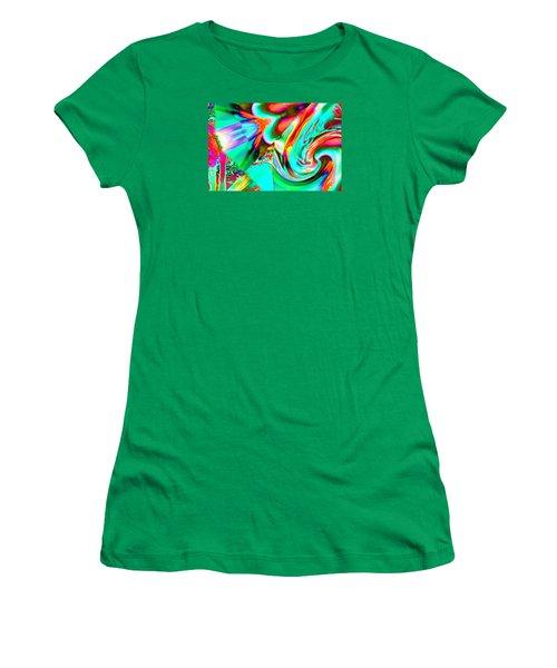 Pattern 307 _ Rich Women's T-Shirt (Athletic Fit)