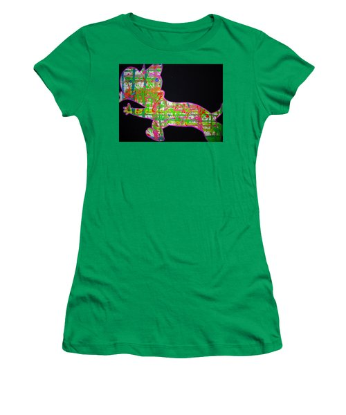 Plaid Women's T-Shirt