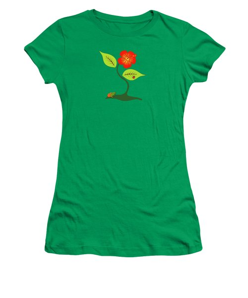 Plant And Flower Women's T-Shirt (Athletic Fit)