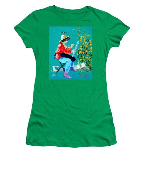 Plein Air Painter  Women's T-Shirt