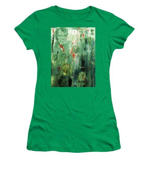 Remembering Kerouac Women's T-Shirt (Athletic Fit)