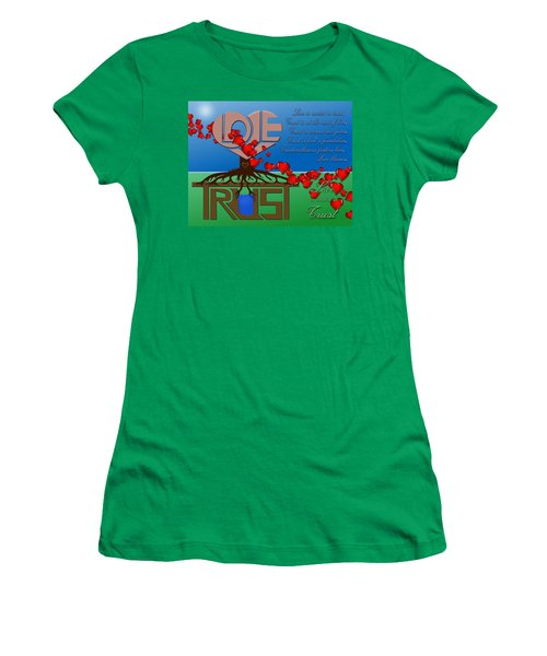 Rooted In Trust Women's T-Shirt