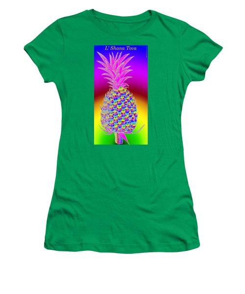 Rosh Hashanah Pineapple Women's T-Shirt