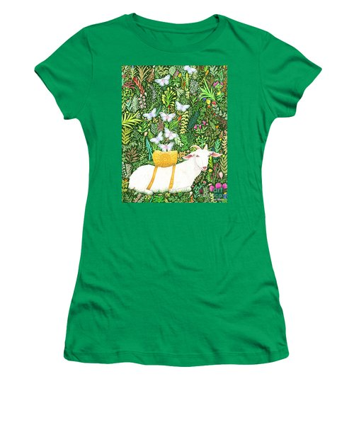 Scapegoat Healing Women's T-Shirt (Junior Cut) by Lise Winne