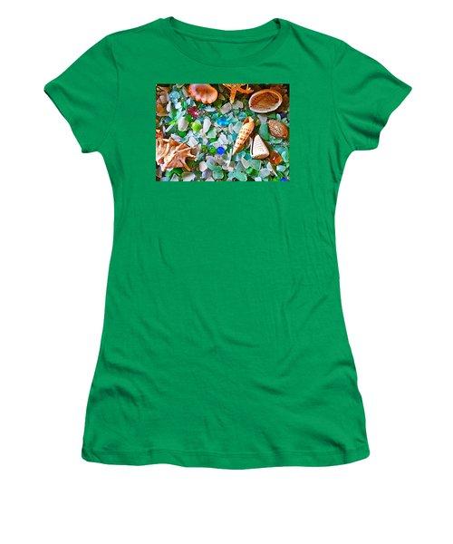 Shells And Glass Women's T-Shirt