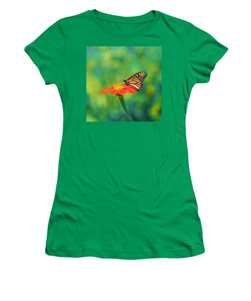Women's T-Shirt (Junior Cut) featuring the photograph Small Wonders by Byron Varvarigos