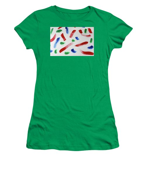 Splatter Women's T-Shirt (Athletic Fit)