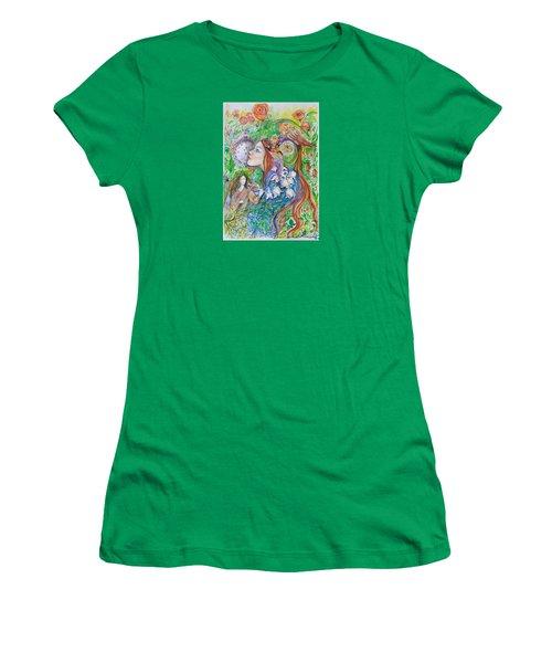 Spring Song Women's T-Shirt (Junior Cut) by Rita Fetisov