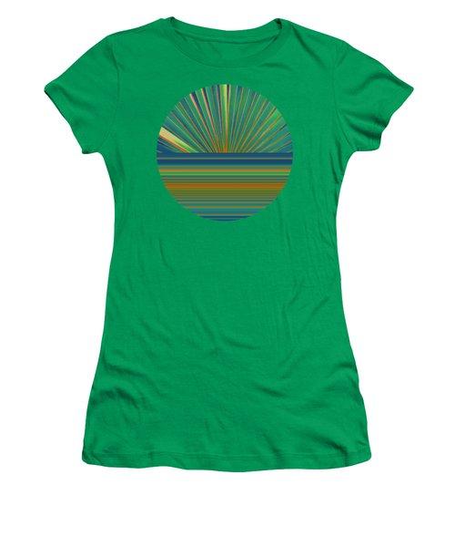 Sunburst Women's T-Shirt (Junior Cut) by Michelle Calkins