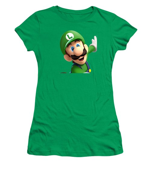 Super Luigi Art Women's T-Shirt