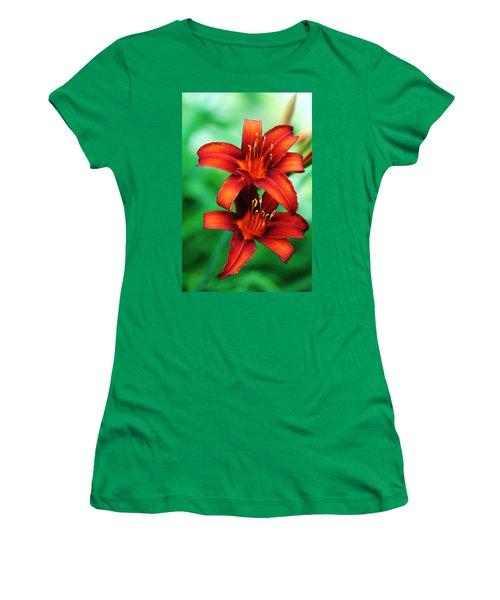 Tawny Beauty Women's T-Shirt (Junior Cut) by Debbie Oppermann
