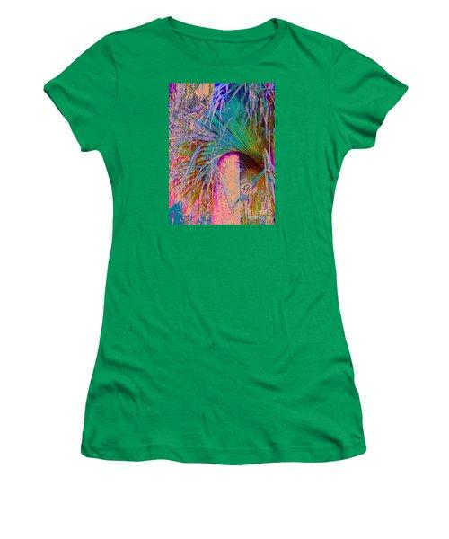 Techni Frond Women's T-Shirt (Athletic Fit)