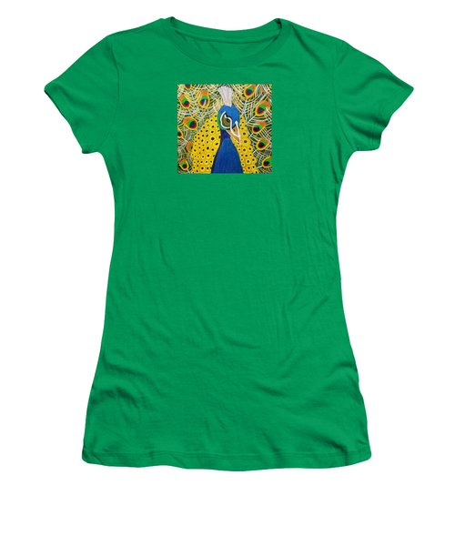 The Eye Of The Peacock Women's T-Shirt (Athletic Fit)