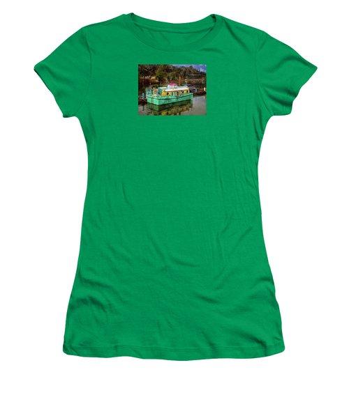 Women's T-Shirt featuring the photograph Toledo Showboat by Thom Zehrfeld