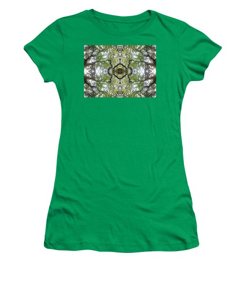 Tree Photo Fractal Women's T-Shirt